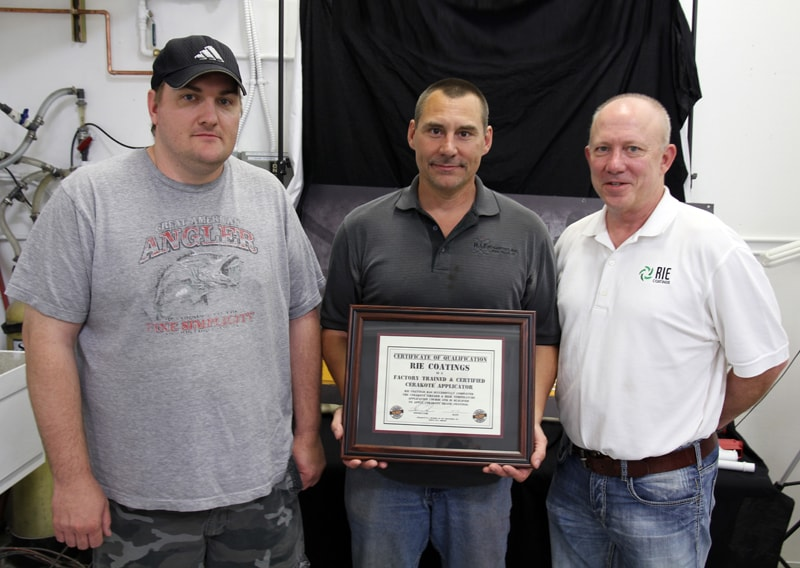 RIE Coatings Becomes Cerakote Factory Trained and Certified