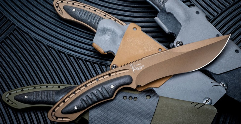 The Anago, by Begg Knives, Featuring Cerakote