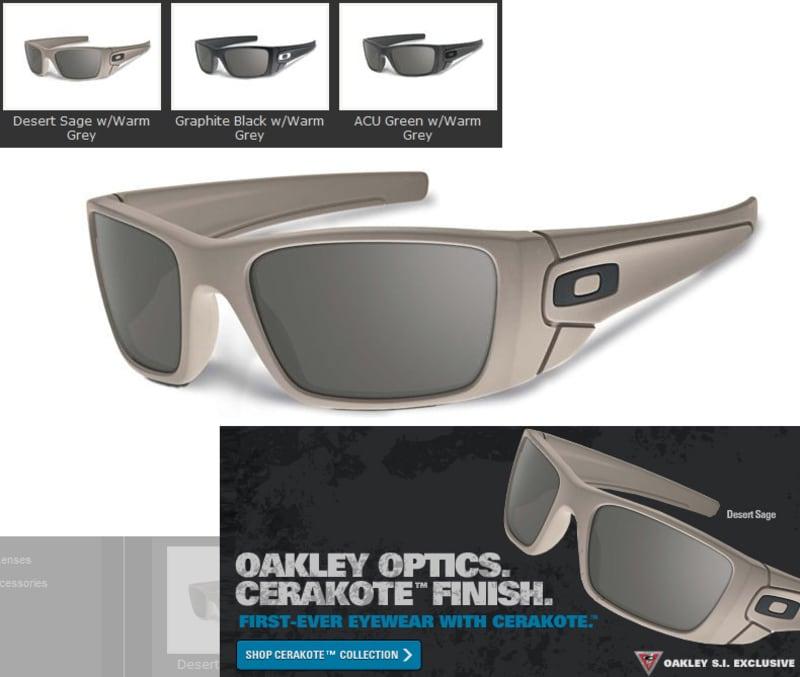 Oakley SI Fuel Cell Sunglasses with Cerakote