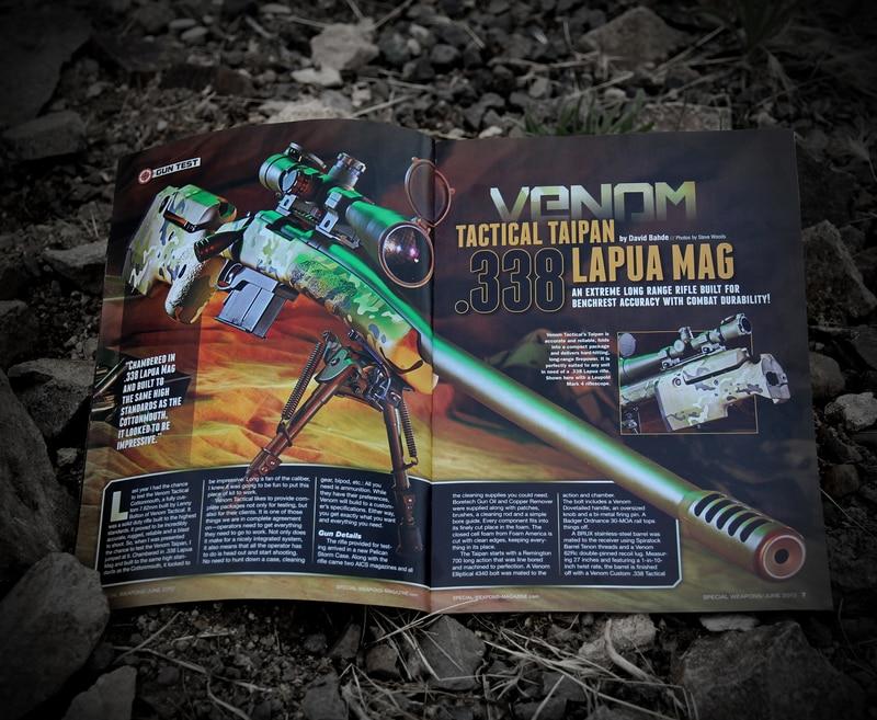 Venom Tactical Taipan Featuring Cerakote Firearm Coatings