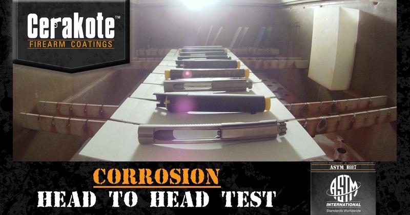 Cerakote Ceramic Coating Corrosion Test (ASTM B117) Video Released
