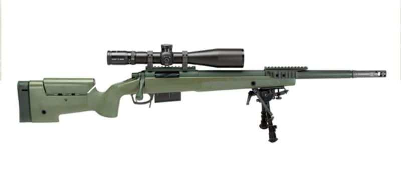 GA Precision's FBI HRT Featuring Cerakote Gun Coatings