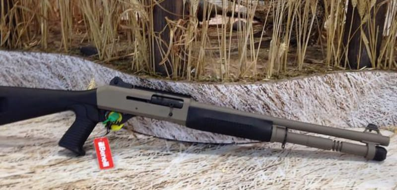 The New Benelli M4 Cerakote Tactical Shotgun Is Rugged and Ready for Action