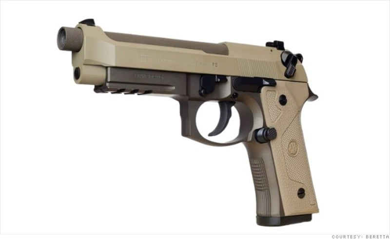 Beretta Chooses Cerakote Firearm Coatings For The M9A3
