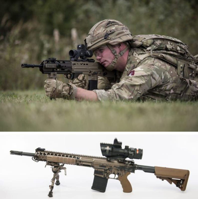 British Army to Cerakote Entire Infantry Weapon Fleet
