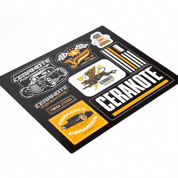 Cerakote Auto Sticker Pack