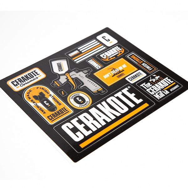 Cerakote Bombs Away Sticker Pack