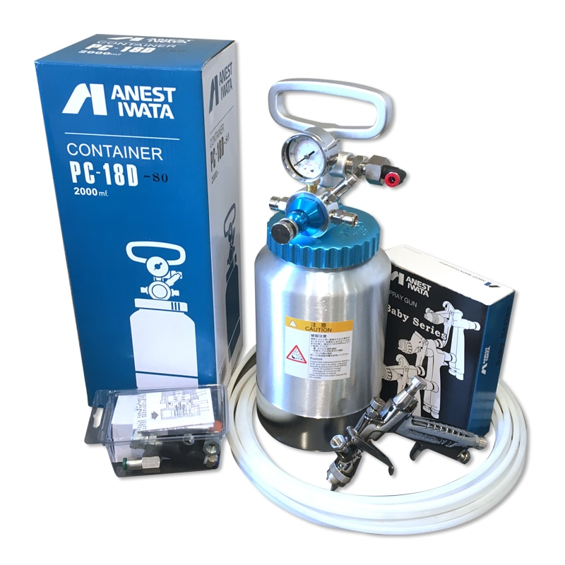 High resolution product image of IWATA Pressure Pot Spray System
