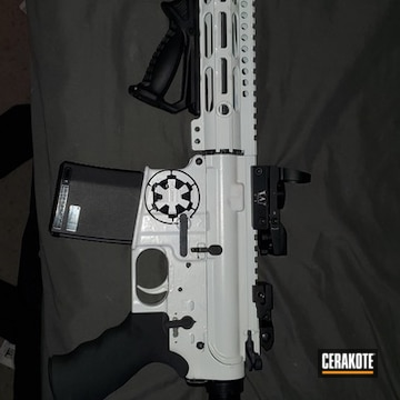 Ar-15 Coated Using Stormtrooper White