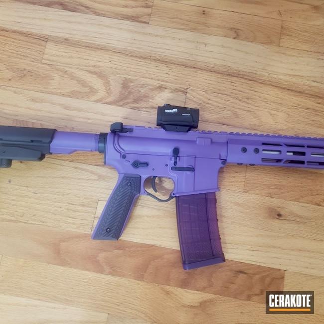 Cerakoted: S.H.O.T,Multi cal,AR,LOLLYPOP PURPLE C-163,Purple,AR Parts,AR Build