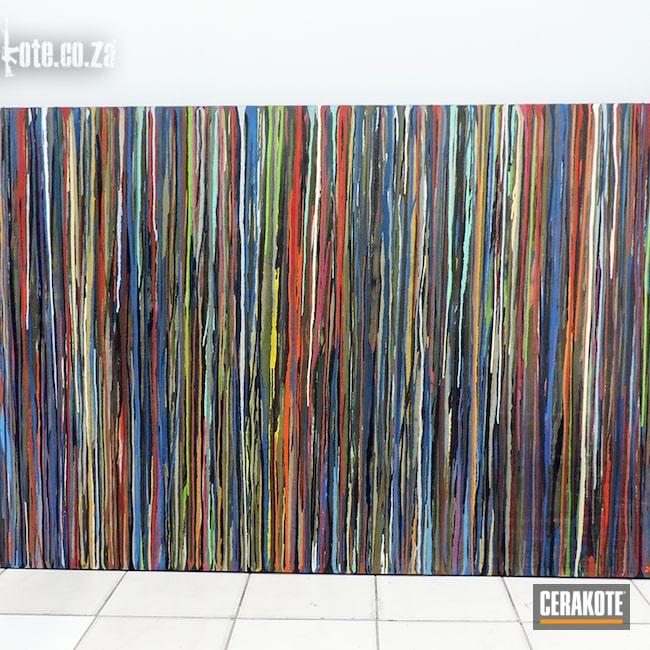 Cerakoted: Industrial,Graphite Black H-146,Art,Splillage,South African,Workshop