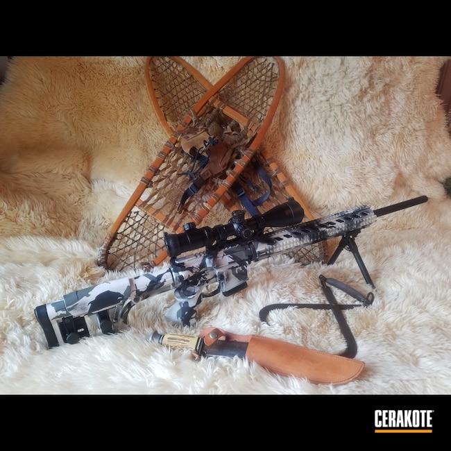 Cerakoted: Bright White H-140,S.H.O.T,Sniper Grey H-234,Graphite Black H-146,AR,SMITH & WESSON® GREY H-214,Tactical Rifle,SIG™ DARK GREY H-210