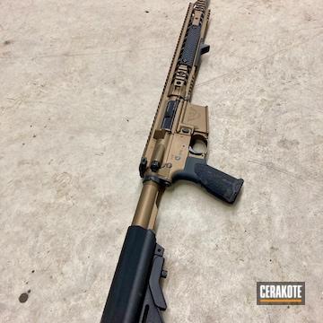 Wilson Combat Ar Build Coated Using Burnt Bronze