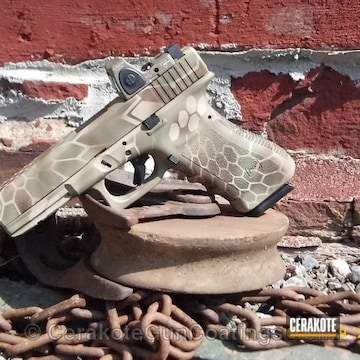 Cerakoted H-232 Magpul O.d. Green With H-226 Patriot Brown H-199 Desert Sand