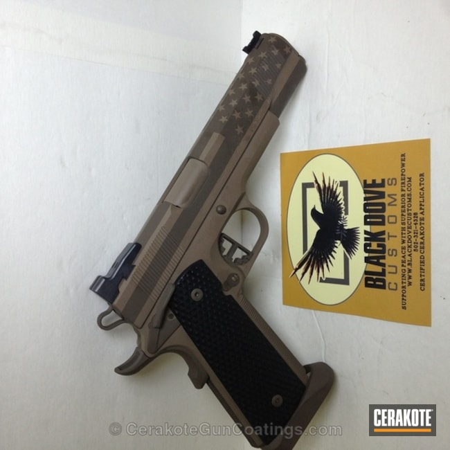 "Thumbnail image for project ""H-267 MagPul Flat Dark Earth with H-226 Patriot Brown"""