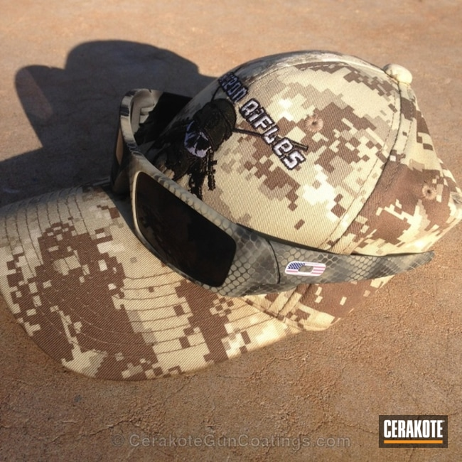 Cerakoted: Sunglasses,Sniper Grey H-234,Graphite Black H-146,Foliage Green H-263,Sniper Grey