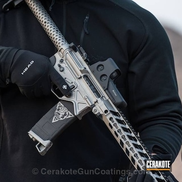 Cerakoted H-109 Gloss Black With H-139 Steel Grey
