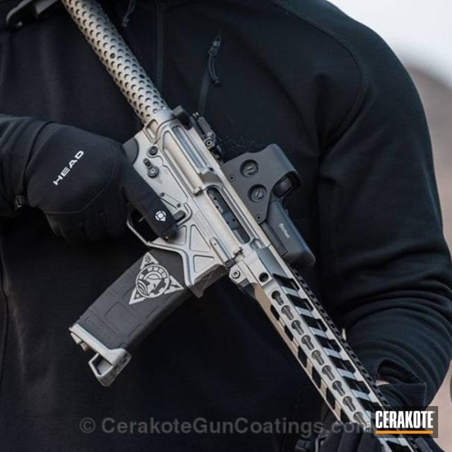 Cerakoted: Rifle,Steel Grey H-139,Gloss Black H-109,Browning,Tactical Rifle,2015 Shot