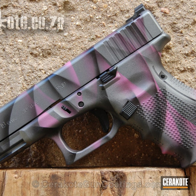 "Thumbnail image for project ""H-208 Wild Pink with H-146 Graphite Black and H-227 Tactical Grey"""