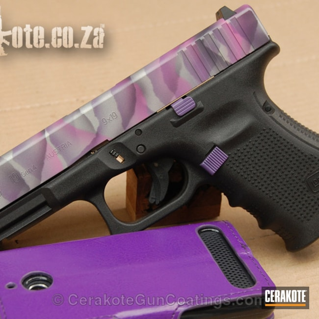 "Thumbnail image for project ""H-208 Wild Pink with H-217 Bright Purple and H-147 Satin Mag"""