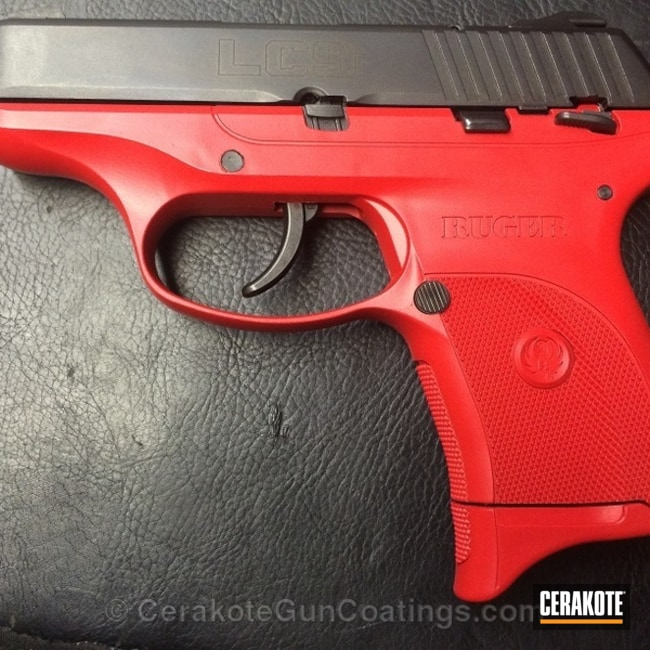 Cerakoted: Ruger,USMC Red H-167,Handguns