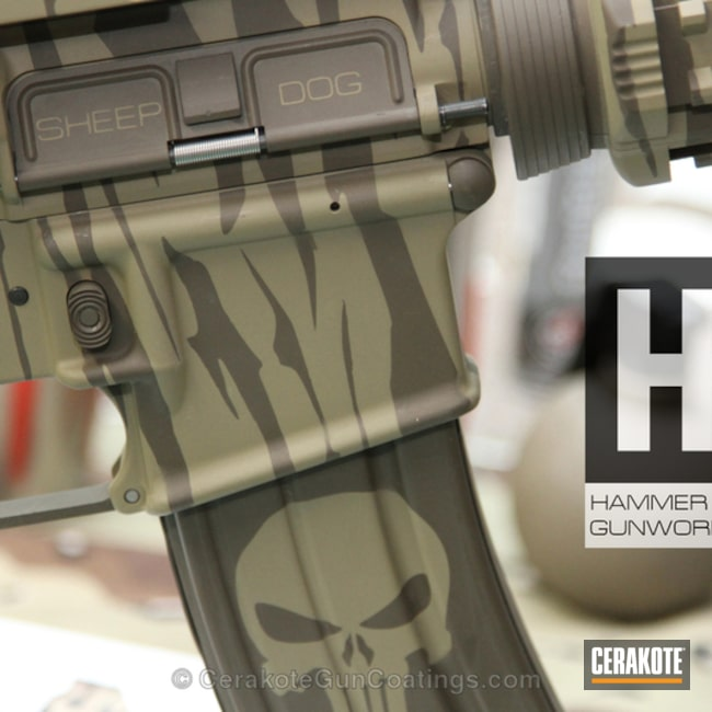 "Thumbnail image for project ""H-226 Patriot Brown with H-235 Coyote Tan"""