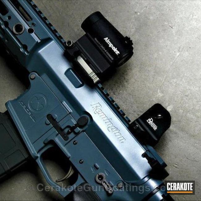 Cerakoted: Jesse James Cold War Grey H-402,Tactical Rifle