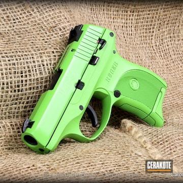 Cerakoted H-168 Zombie Green