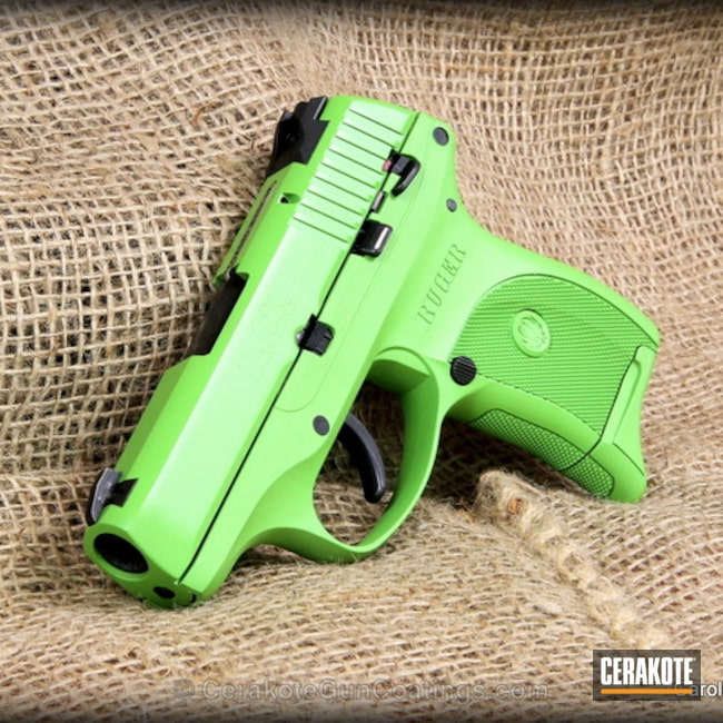 Cerakoted: Ruger,Zombie Green H-168,Handguns