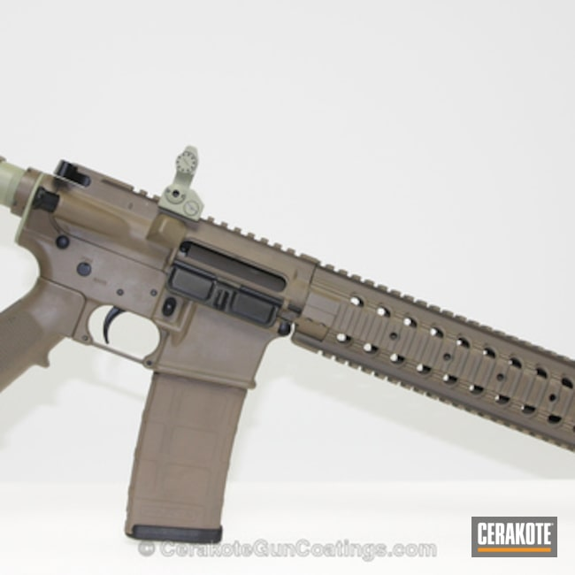 H-235 Coyote Tan with H-146 Graphite Black