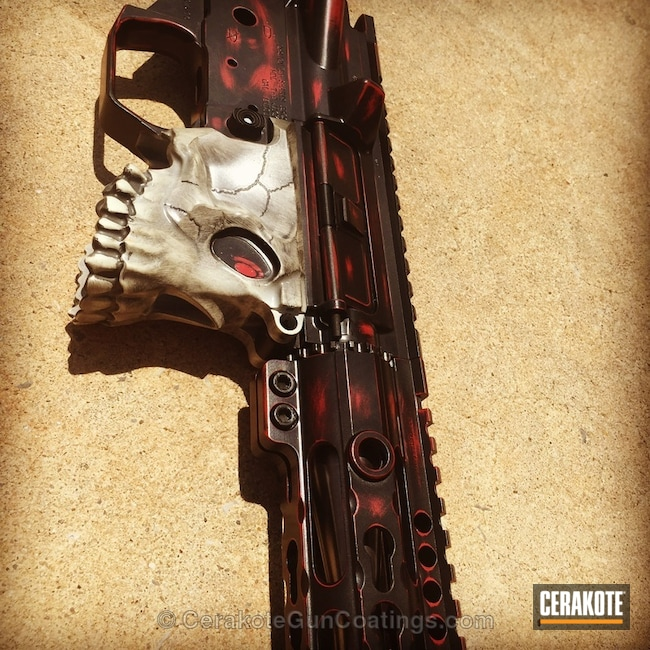 Cerakoted: Spike's Tactical,Graphite Black H-146,Tactical Rifle