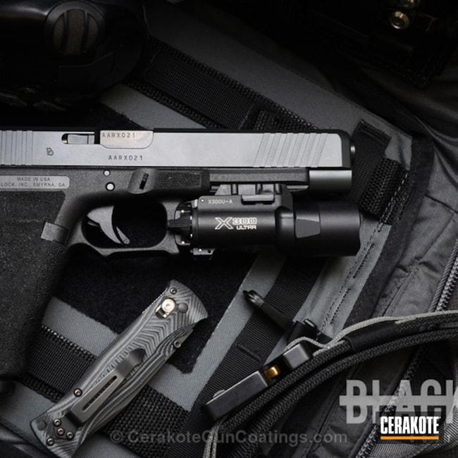 Cerakoted: Sniper Grey H-234,Glock,Handguns,Sniper Grey