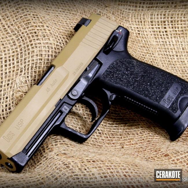 Cerakoted: Mud Brown H-225,Heckler & Koch,Handguns