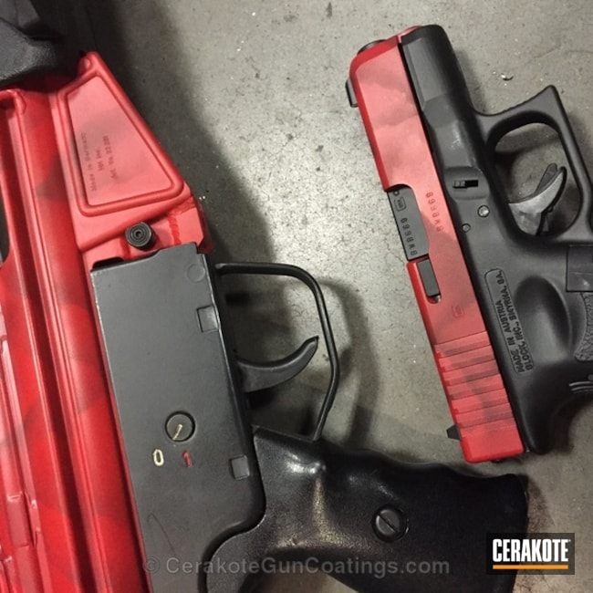 "Thumbnail image for project ""H-216 Smith and Wesson Red with H-146 Graphite Black"""