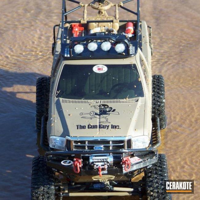 Cerakoted: MAGPUL® FLAT DARK EARTH H-267,Cerakote,Graphite Black H-146,USMC Red H-167,Automotive,RC Truck