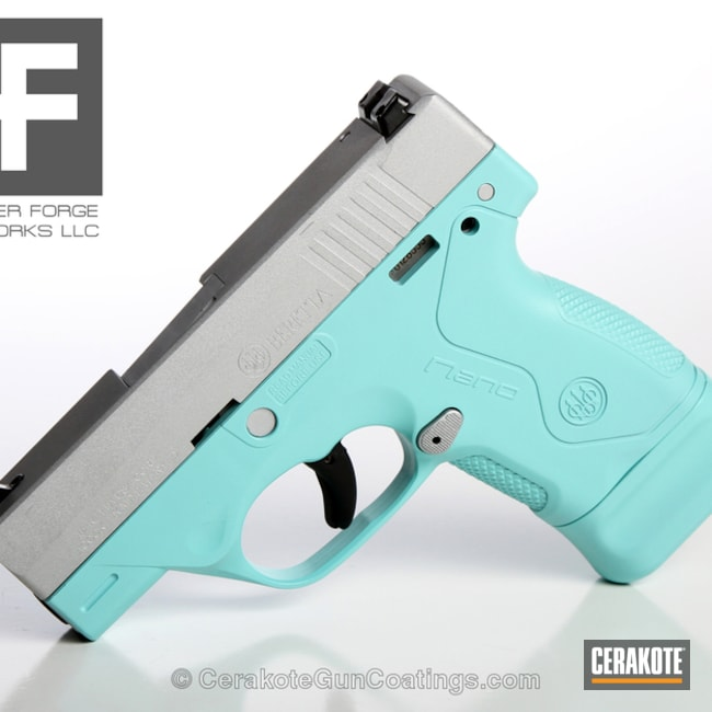 "Thumbnail image for project ""H-151 Satin Aluminum with H-175 Robin's Egg Blue"""