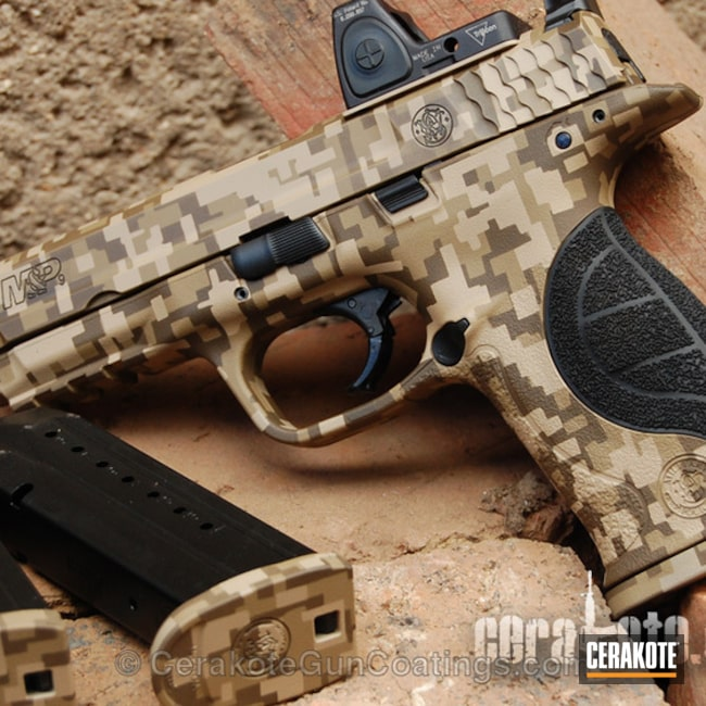 "Thumbnail image for project ""H-199 Desert Sand with H-235 Coyote Tan and H-226 Patriot Brown"""