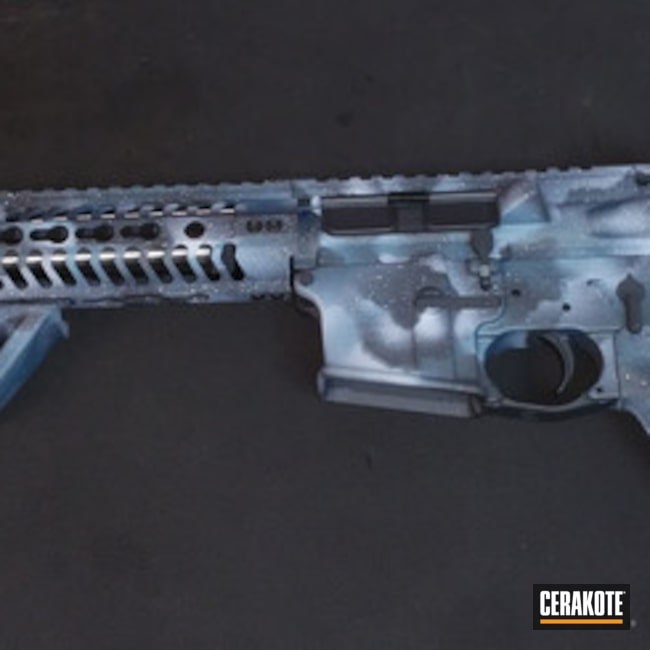 "Thumbnail image for project ""H-140 Bright White with H-185 Blue Titanium and H-234 Sniper Grey"""