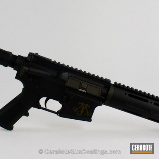 Thumbnail version of the 4th project picture. Tactical Rifle, Burnt Bronze H-148Q