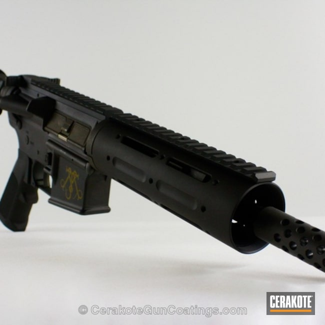 Mobile-friendly version of the 5th project picture. Tactical Rifle, Burnt Bronze H-148Q