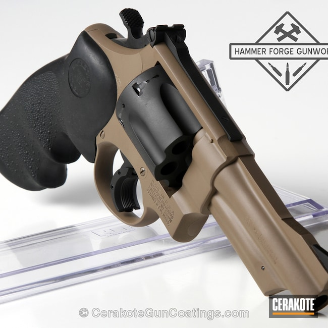 H-267 MagPul Flat Dark Earth with H-146 Graphite Black