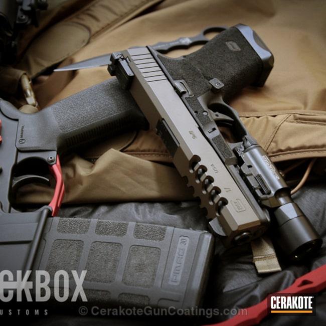 Cerakoted: Patriot Brown H-226,Glock,Handguns