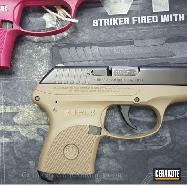 Thumbnail version of the 2nd project picture. Ruger, Handgun, Texas Tan H-257Q