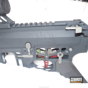 Cerakoted H-147 Satin Mag With H-234 Sniper Grey