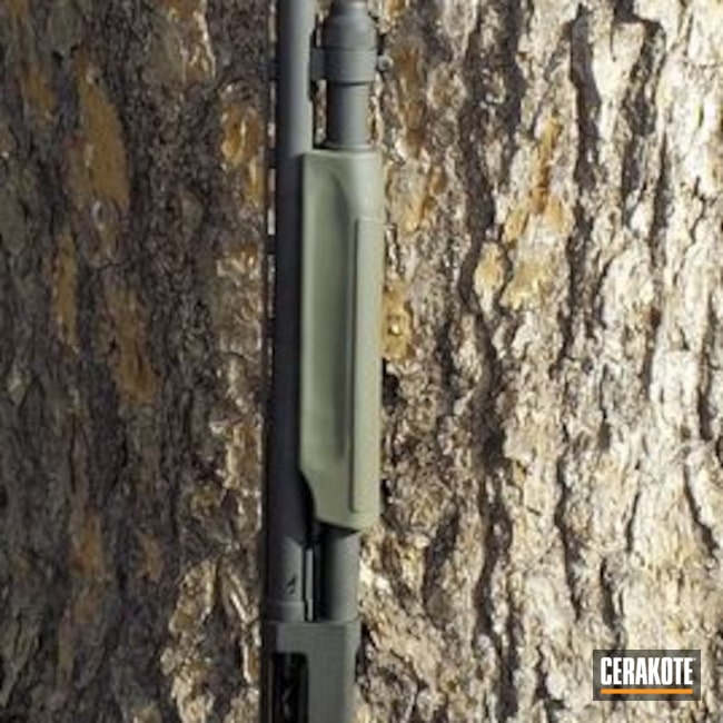 H-232 MagPul O.D. Green with H-190 Armor Black