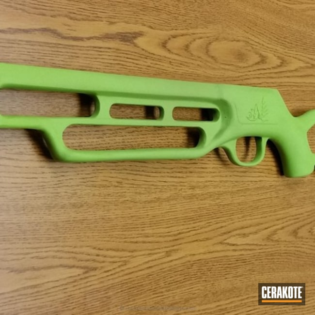 Smaller version of the 1st project picture. Cross Bow, Zombie Green H-168Q
