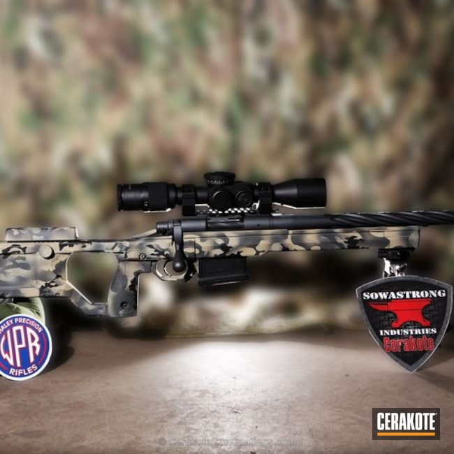 H-234 Sniper Grey with H-146 Graphite Black and H-247 Desert Sage