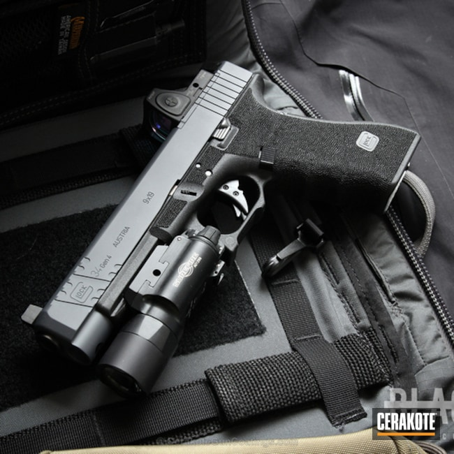 Cerakoted: Glock 34,Combat Grey H-130