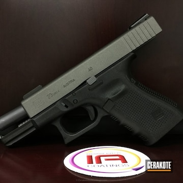 Cerakoted H-237 Tungsten With C-110 Micro Slick