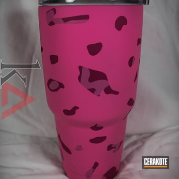 Cerakoted H-141 Prison Pink With H-224 Sig Pink And H-244 Bright Pink